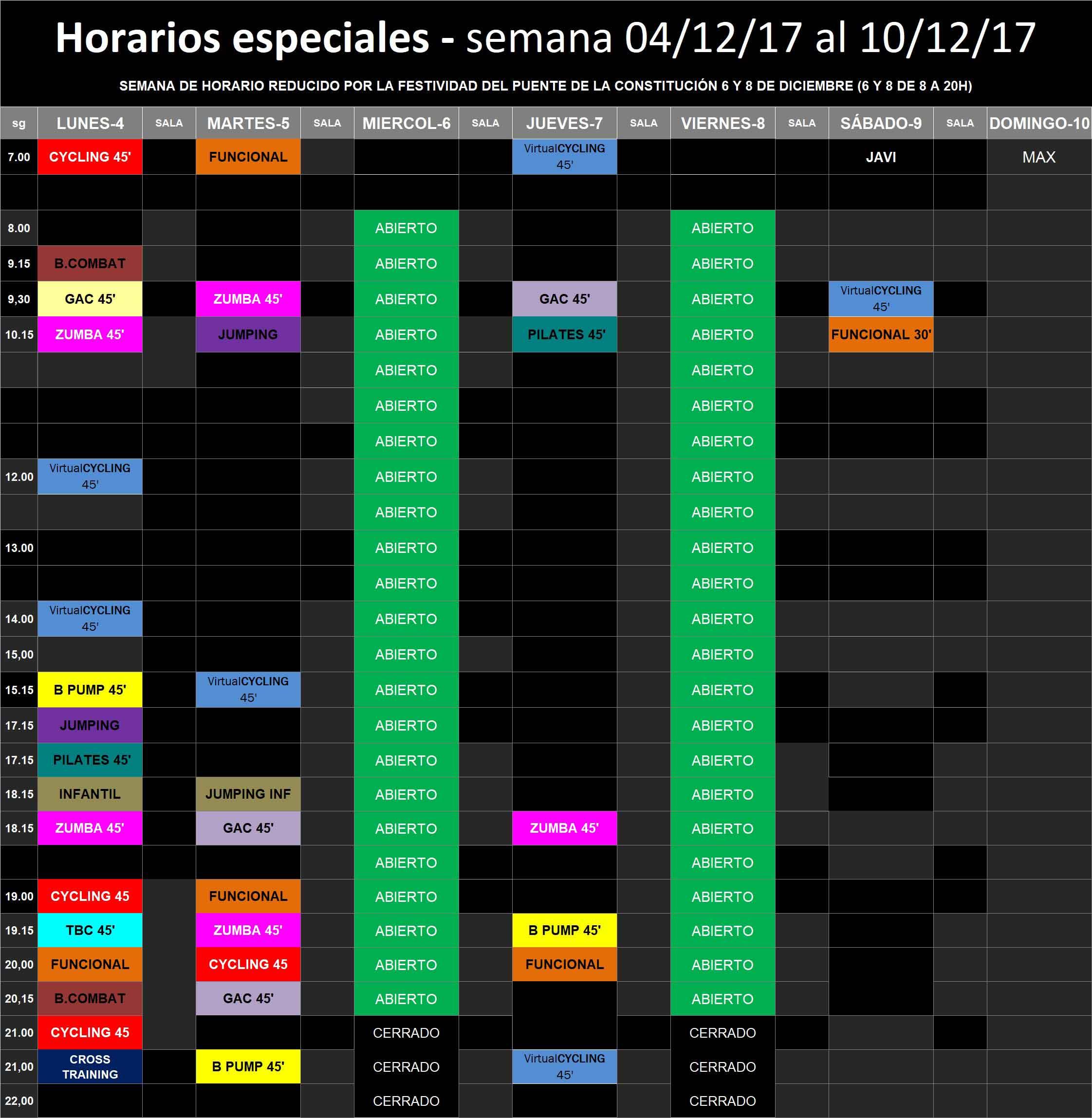 Basic factory sabadell horario semana del 4 12 for Horario bricomart sabadell